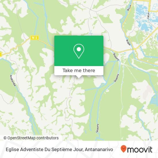 Eglise Adventiste Du Septième Jour map