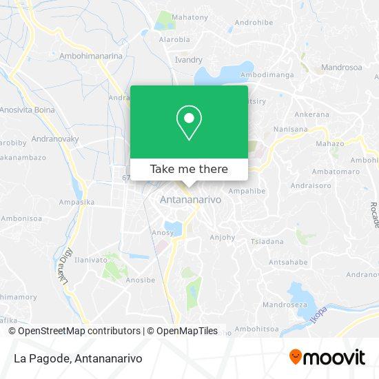 La Pagode map