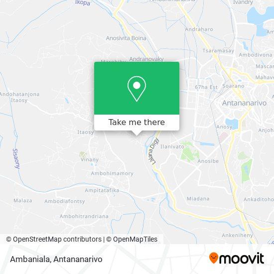 Ambaniala map