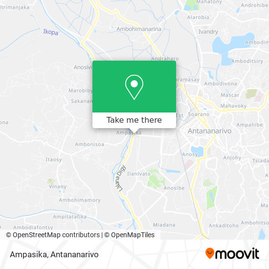 Ampasika map