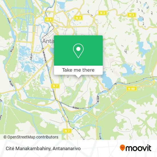 Cité Manakambahiny map