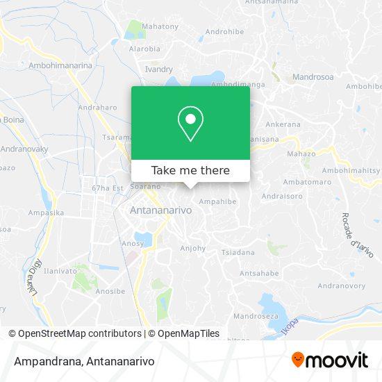 Ampandrana map