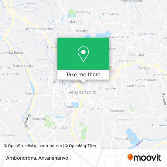 Ambondrona map