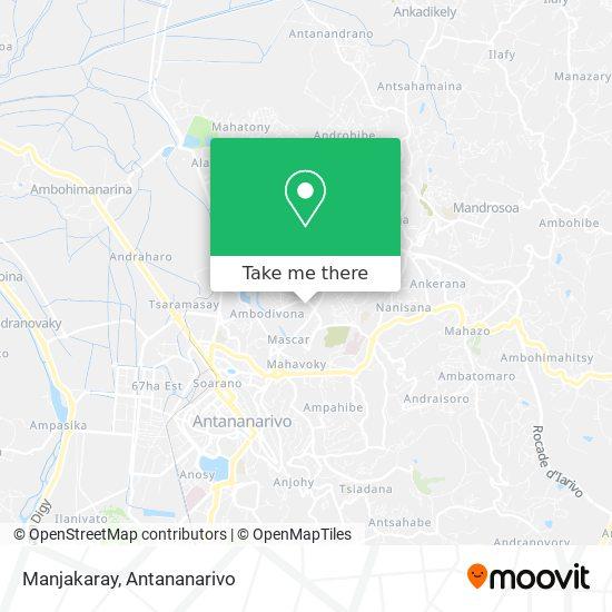 Manjakaray map