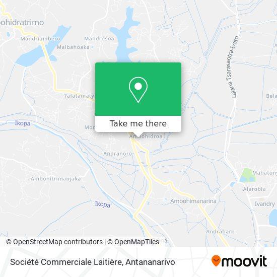 Société Commerciale Laitière map