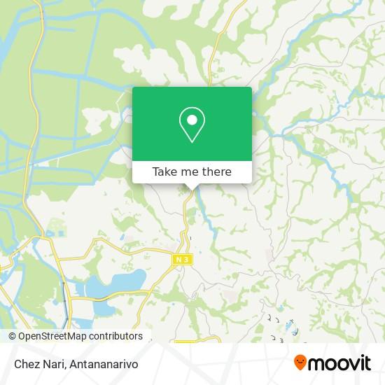 Chez Nari map