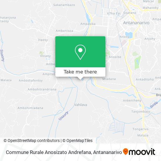 Commune Rurale Anosizato Andrefana map