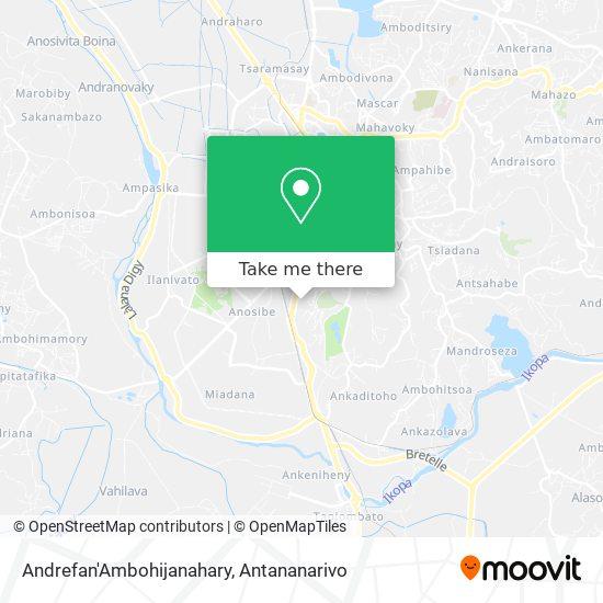 Andrefan'Ambohijanahary map