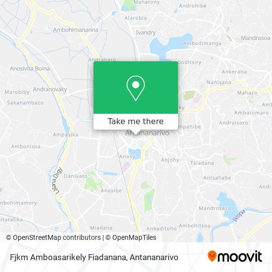 Fjkm Amboasarikely Fiadanana map