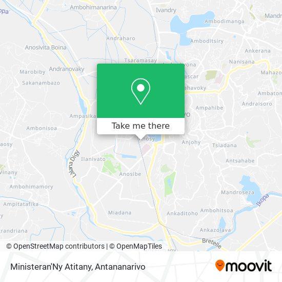 Ministeran'Ny Atitany map