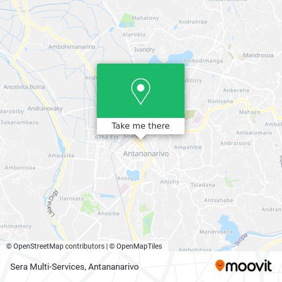 Sera Multi-Services map