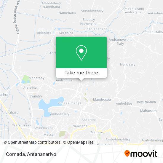 Comada map