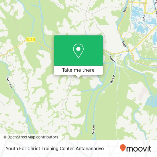 Youth For Christ Training Center map