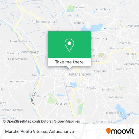 Marché Petite Vitesse map
