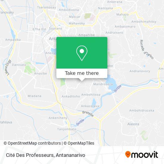 Cité Des Professeurs map