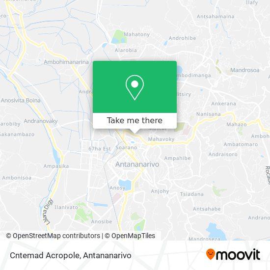 Cntemad Acropole map