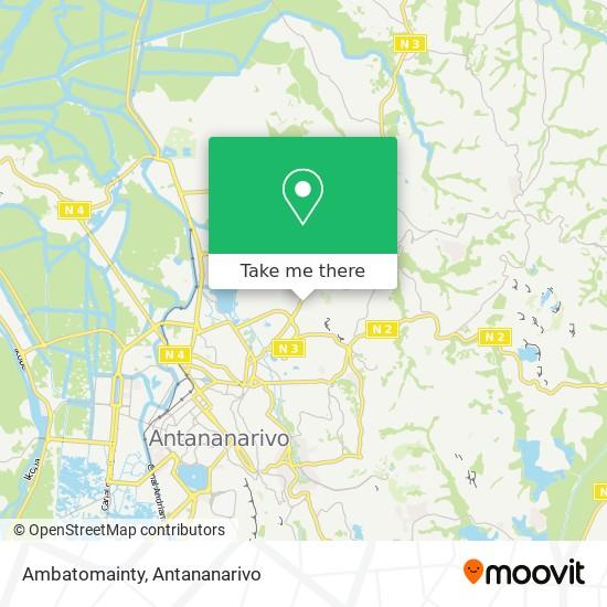 Ambatomainty map
