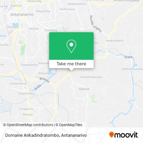 Domaine Ankadindratombo map