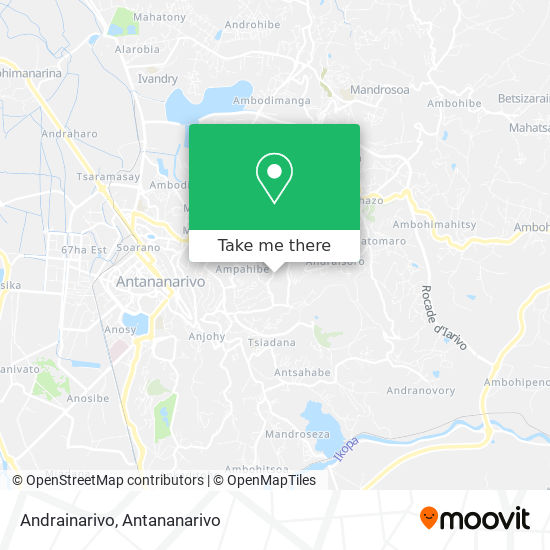 Andrainarivo map