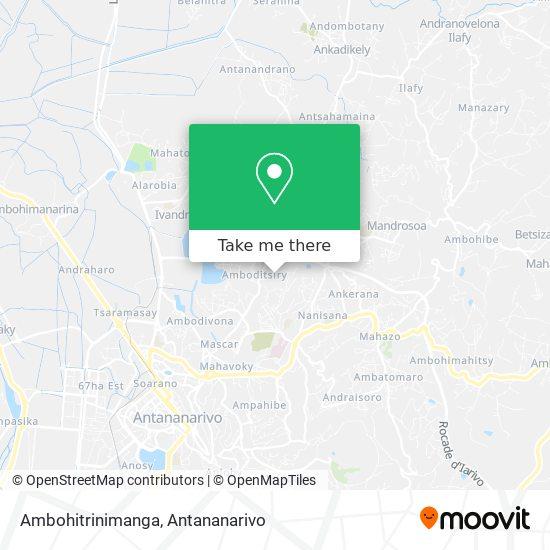Ambohitrinimanga map