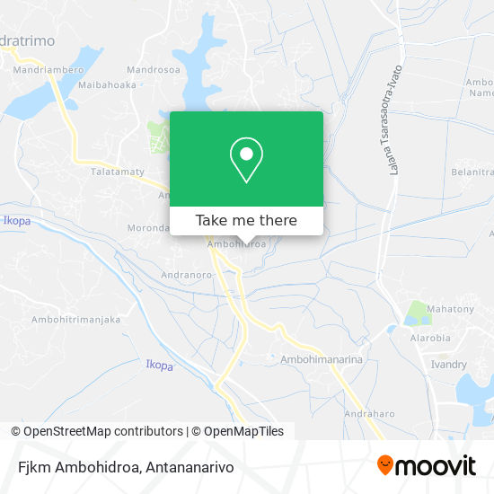 Fjkm Ambohidroa map