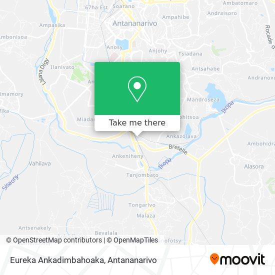 Eureka Ankadimbahoaka map