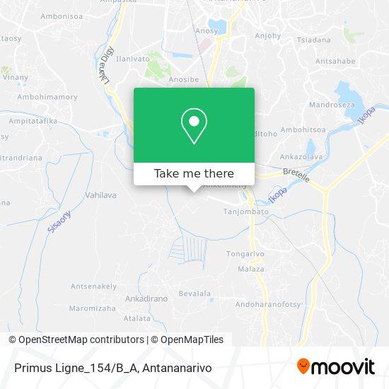 Primus Ligne_154/B_A map