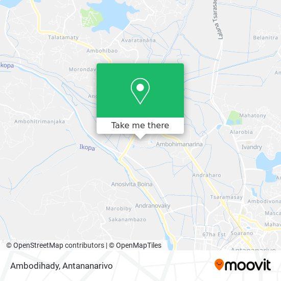 Ambodihady map