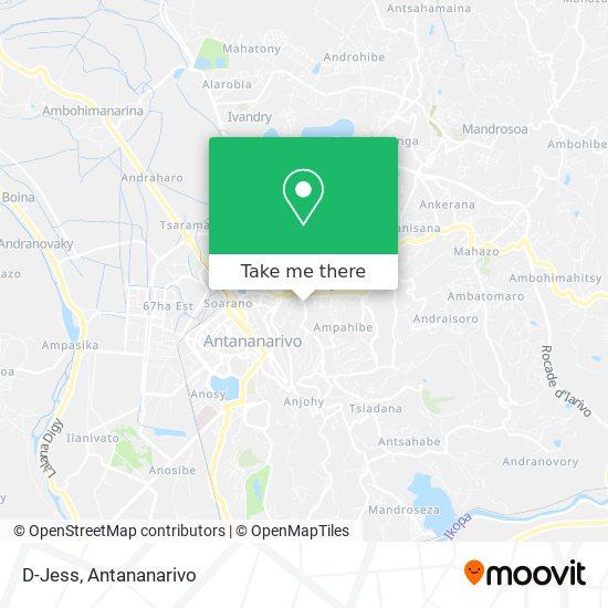 D-Jess map