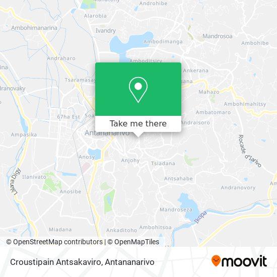 Croustipain Antsakaviro map