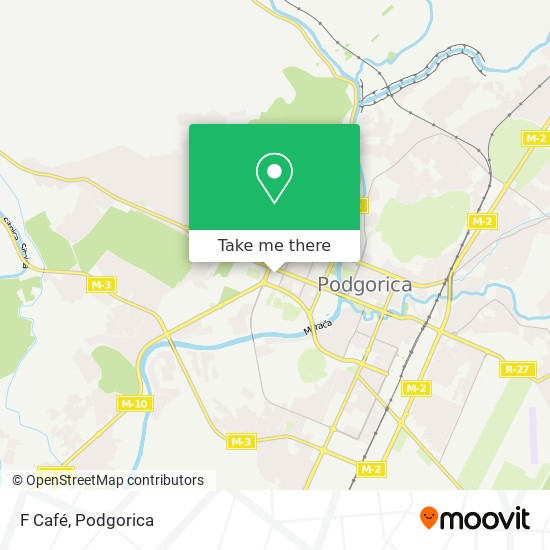 F Café map