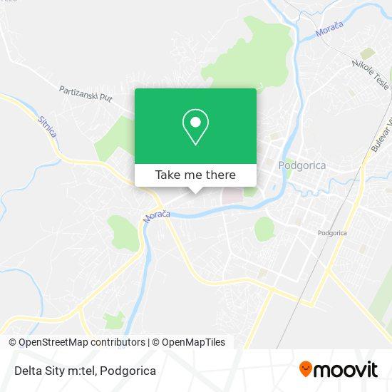 Delta Sity m:tel map