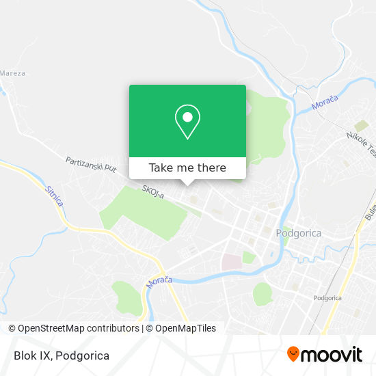 Blok IX map