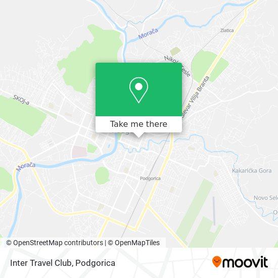 Inter Travel Club map