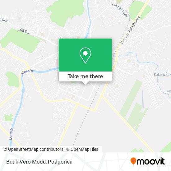 Butik Vero Moda map