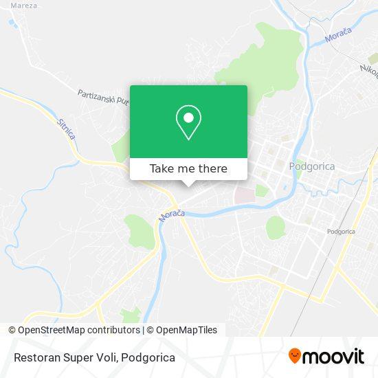 Restoran Super Voli map