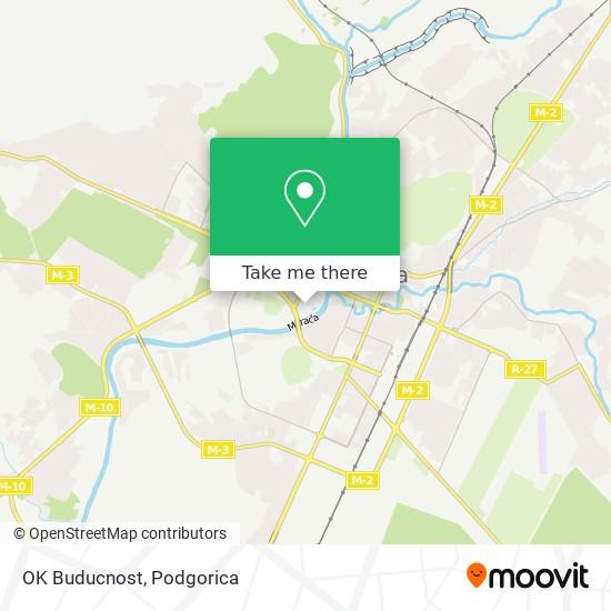 OK Buducnost map