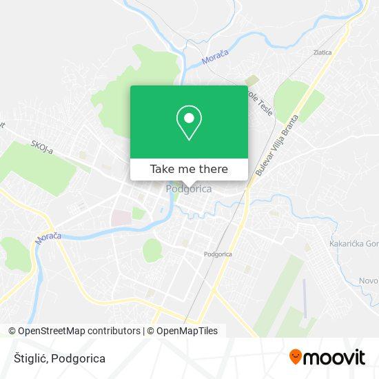 Štiglić map