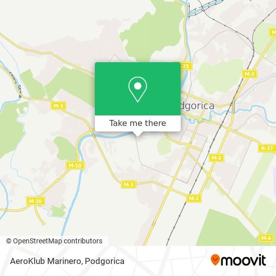AeroKlub Marinero map