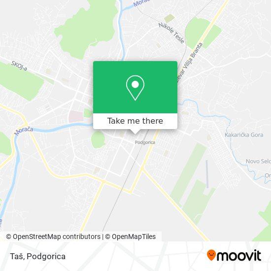Taš map