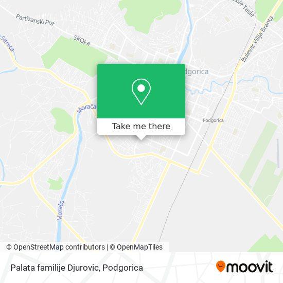 Palata familije Djurovic map