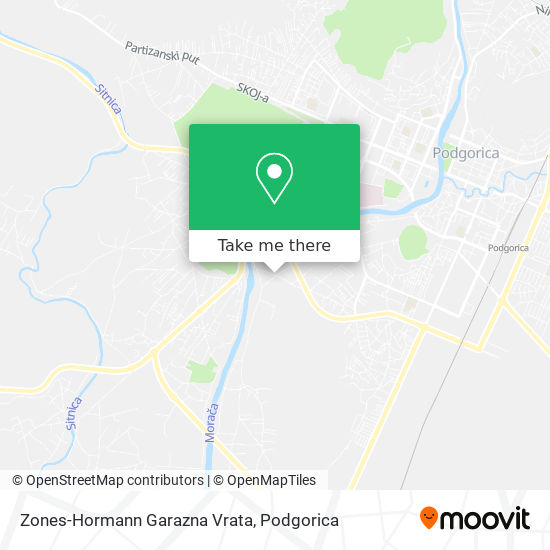 Zones-Hormann Garazna Vrata map