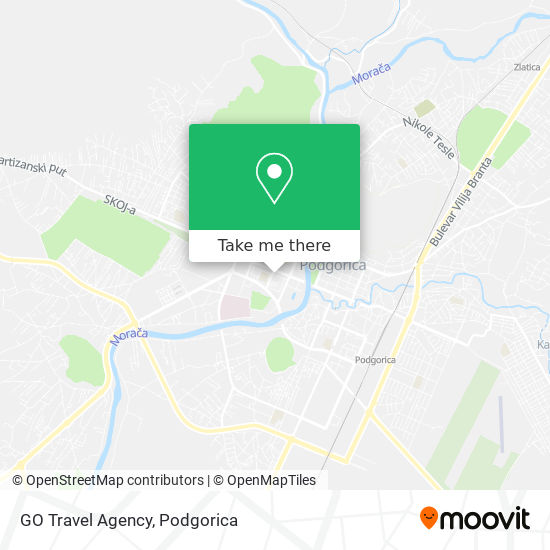 GO Travel Agency map
