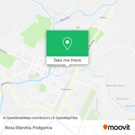 Rista Stijovića map