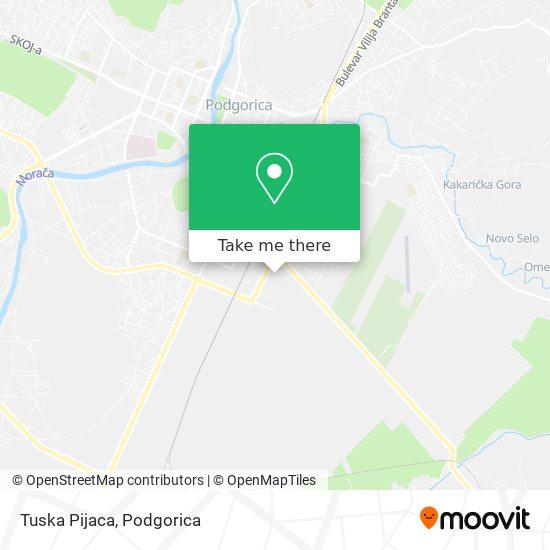 Tuska Pijaca map