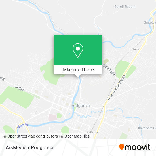 ArsMedica map