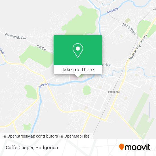 Caffe Casper map