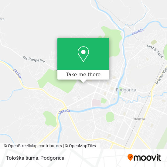Tološka šuma map