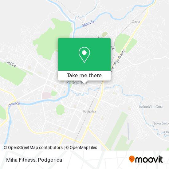 Miha Fitness map