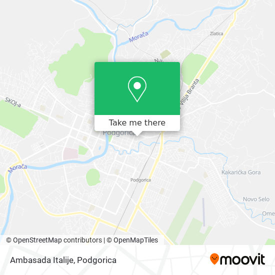 Ambasada Italije map